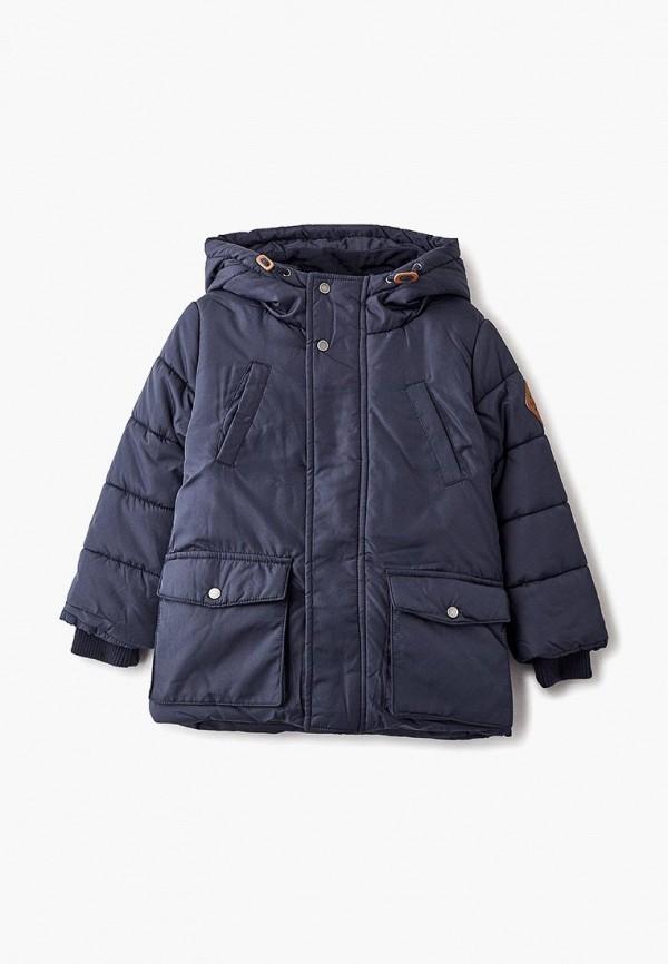 Купить Куртка утепленная Button Blue, bu019ebcrsb4, синий, Осень-зима 2018/2019