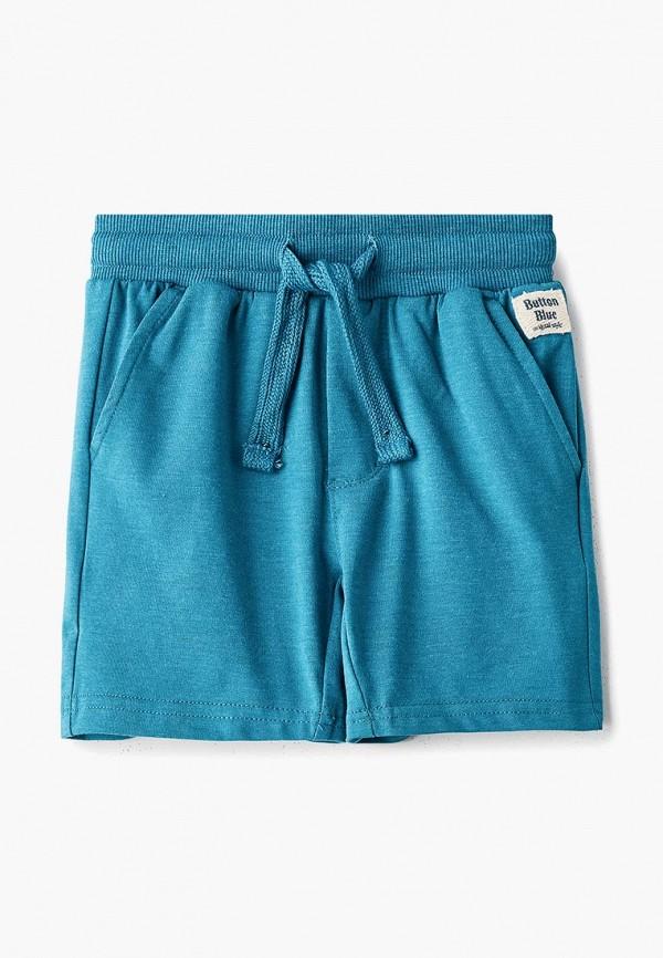 шорты button blue для мальчика, бирюзовые