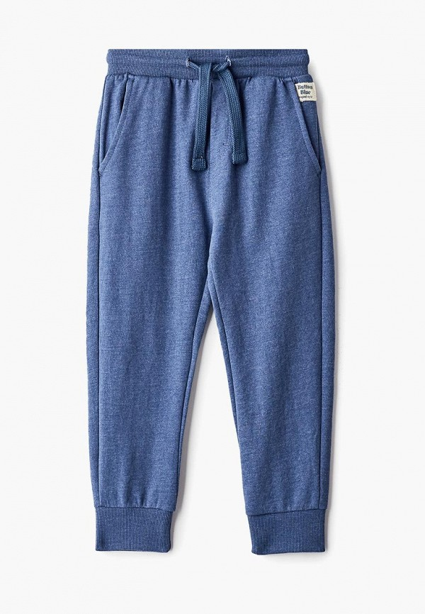 спортивные спортивные брюки button blue для мальчика, синие