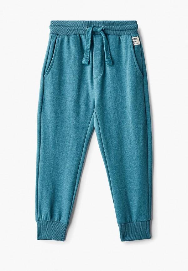 спортивные спортивные брюки button blue для мальчика, зеленые
