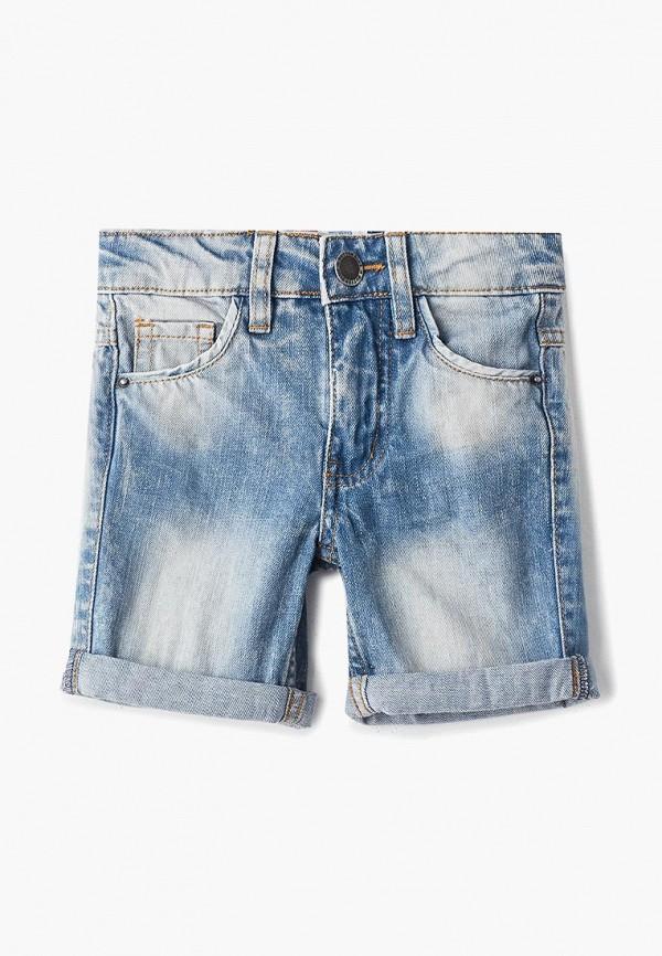 джинсовые шорты button blue для мальчика, голубые