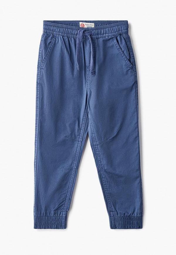 брюки button blue для мальчика, голубые