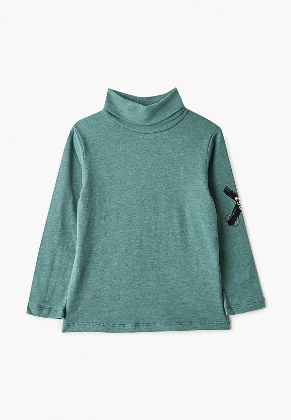 водолазка button blue для мальчика, зеленая