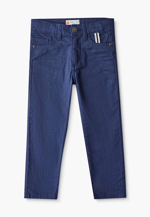 брюки button blue для мальчика, синие