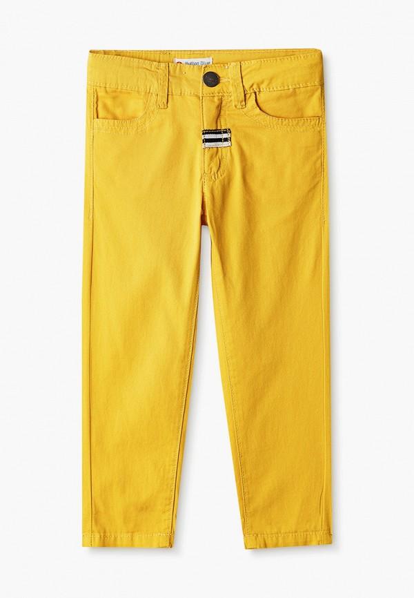 брюки button blue для мальчика, желтые