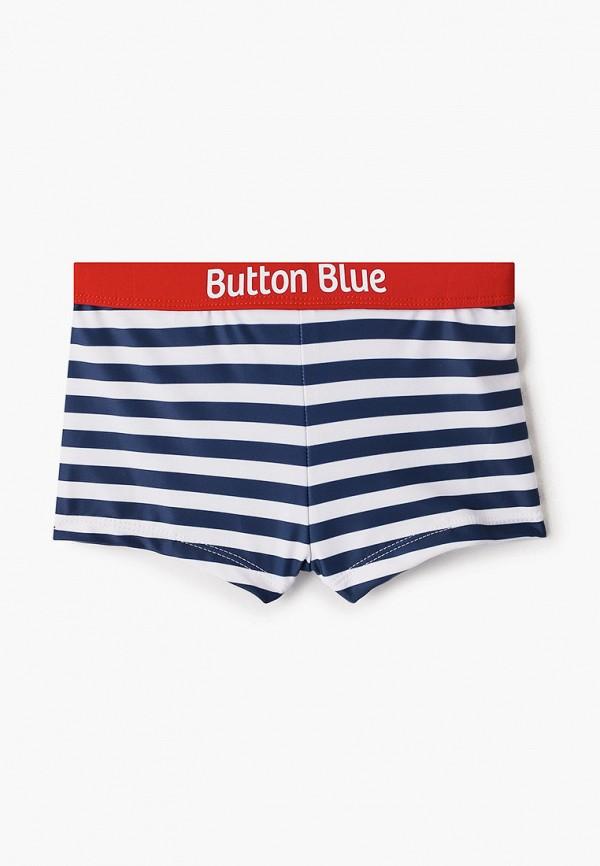 плавки button blue для мальчика, синие