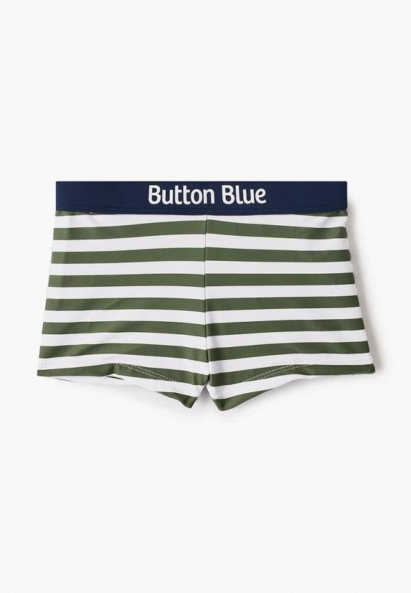 плавки button blue для мальчика, хаки