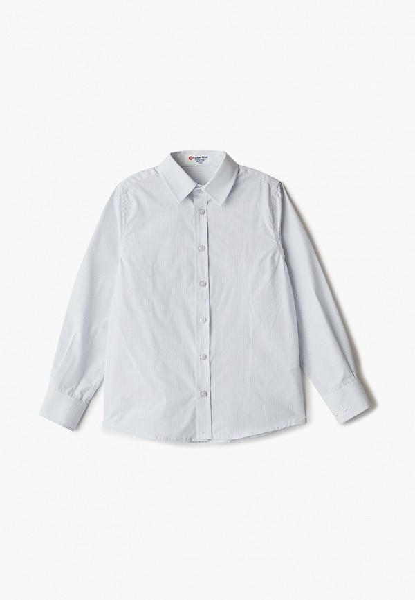 рубашка button blue для мальчика, серая