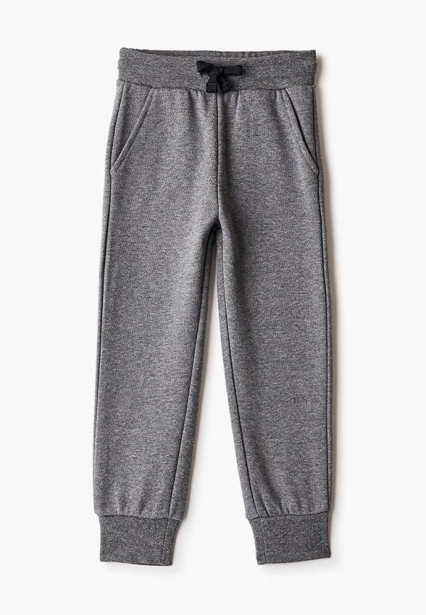 спортивные брюки button blue для мальчика, серые