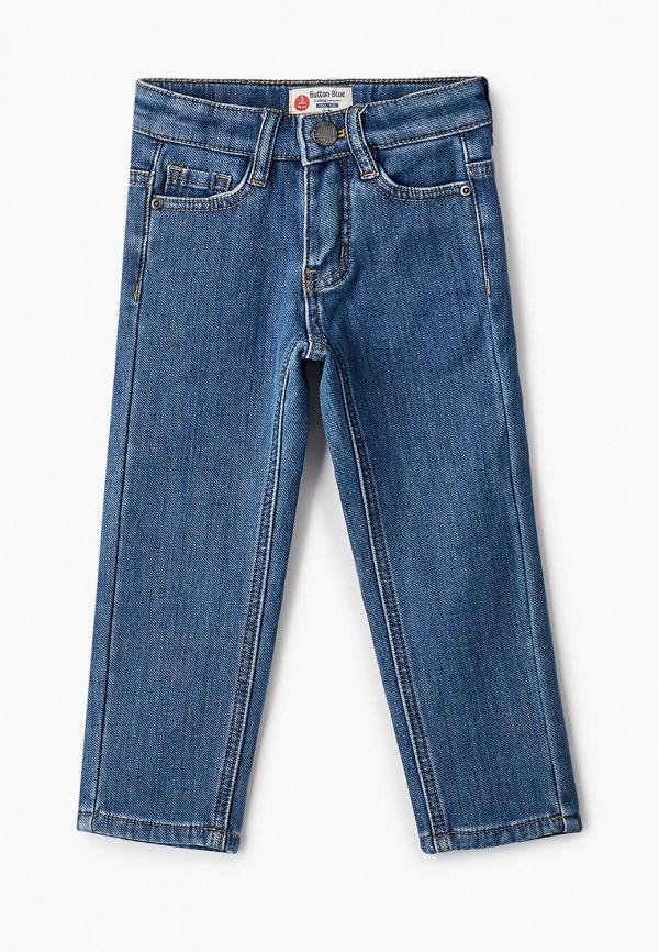 джинсы button blue для мальчика, голубые