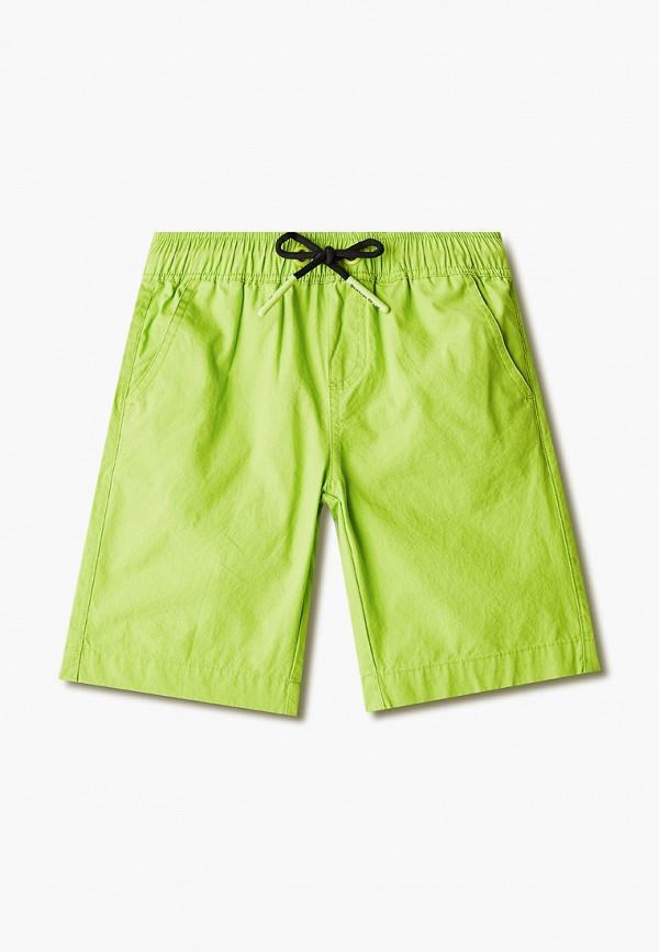 шорты button blue для мальчика, зеленые
