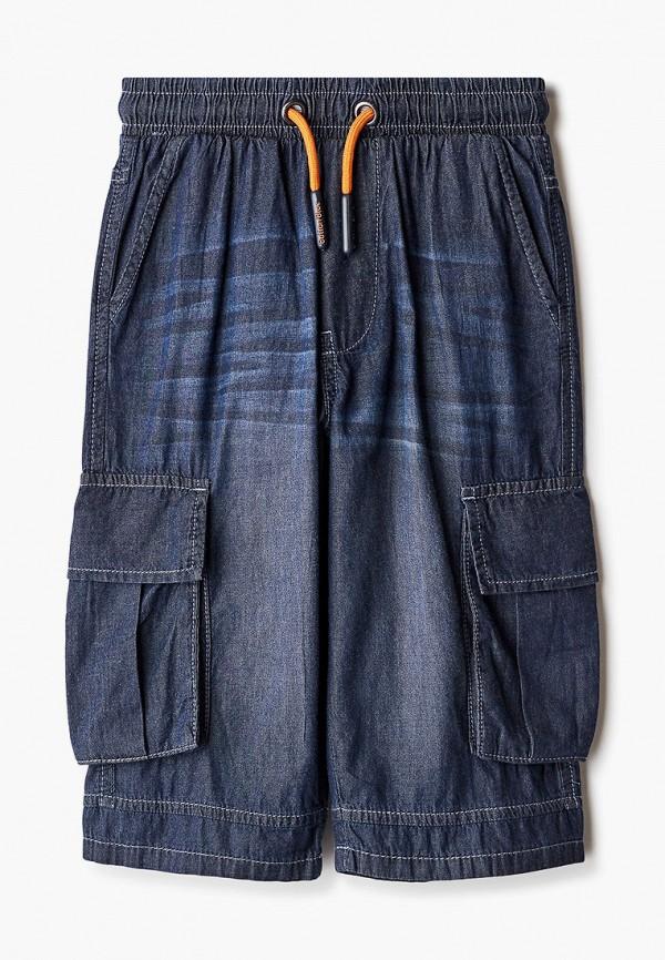 шорты button blue для мальчика, синие