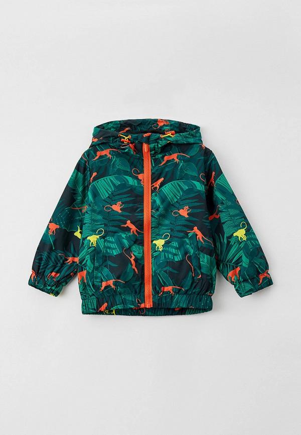 легкие куртка button blue для мальчика, зеленая