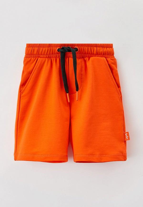 спортивные шорты button blue для мальчика, оранжевые