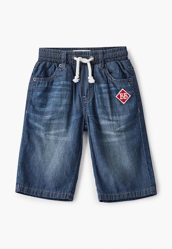 джинсовые шорты button blue для мальчика, синие