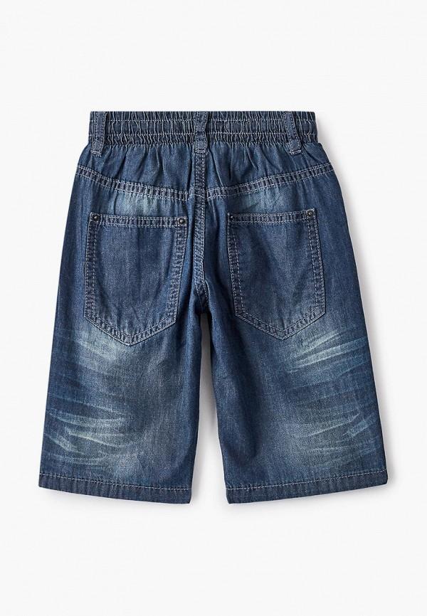 Шорты для мальчика джинсовые Button Blue 121BBBMC6005D400 Фото 2