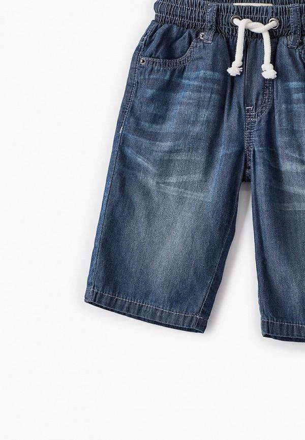 Шорты для мальчика джинсовые Button Blue 121BBBMC6005D400 Фото 3