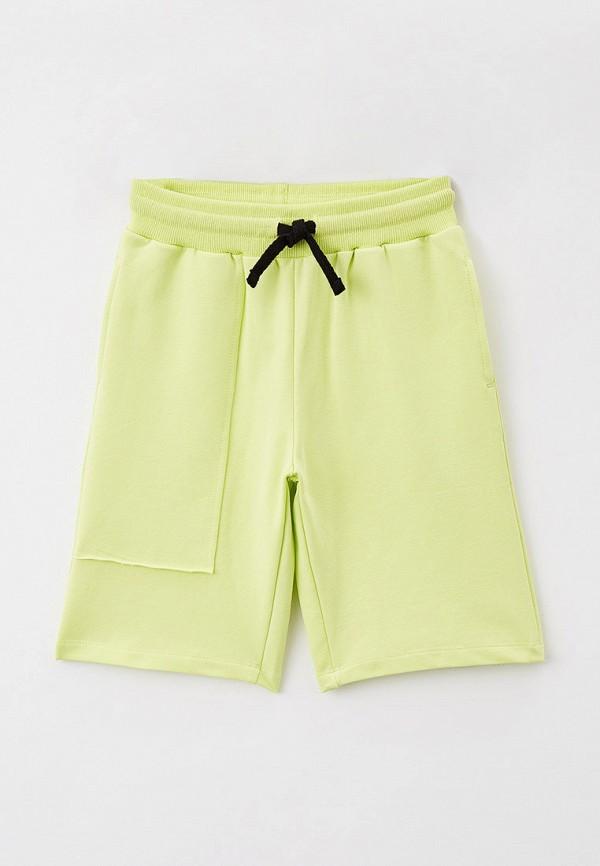 спортивные шорты button blue для мальчика, зеленые