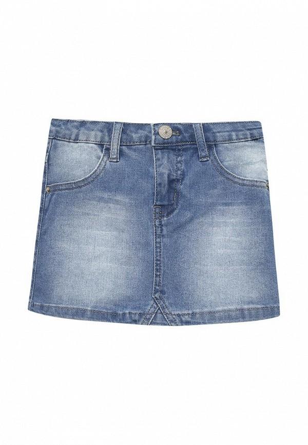 Купить Юбка джинсовая Button Blue, BU019EGAGHH6, голубой, Весна-лето 2018