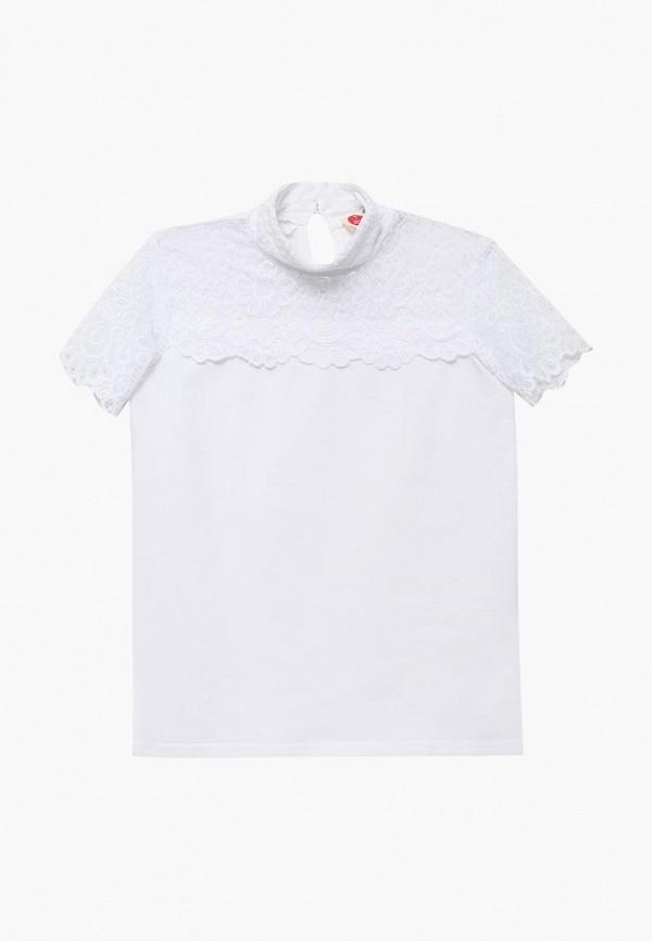 Купить Блуза Button Blue, bu019egbqes6, белый, Осень-зима 2018/2019