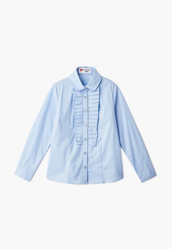 Купить Блуза Button Blue, bu019egbqet5, голубой, Осень-зима 2018/2019