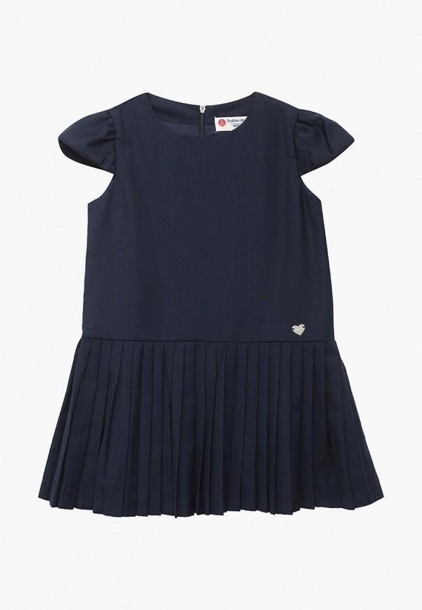 Купить Платье Button Blue, bu019egbqeu2, синий, Осень-зима 2018/2019
