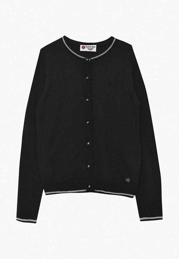 Купить Кардиган Button Blue, bu019egbqeu6, черный, Осень-зима 2018/2019