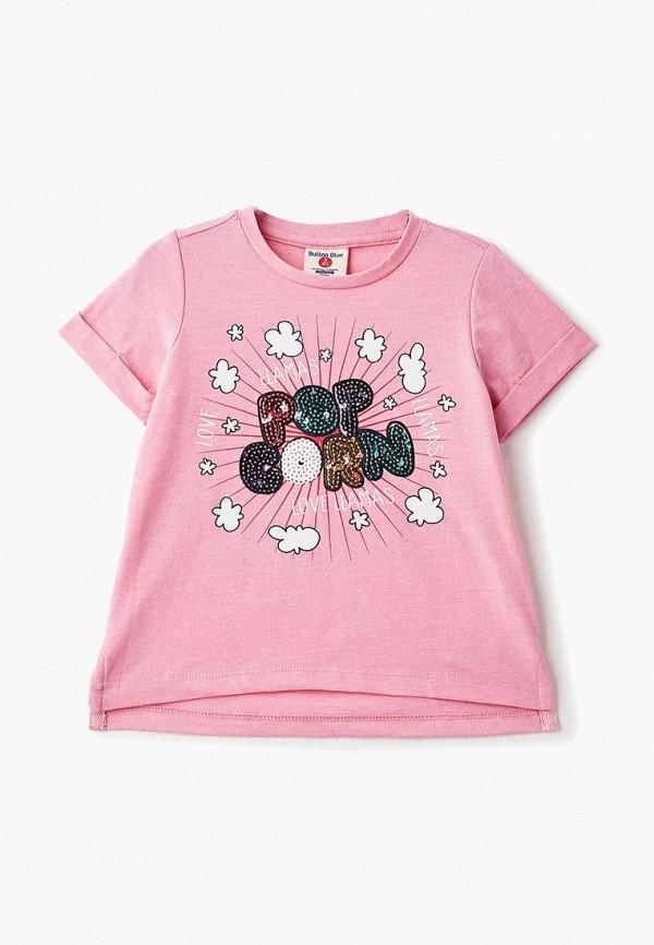 Купить Футболка Button Blue, BU019EGCRSI6, розовый, Осень-зима 2018/2019