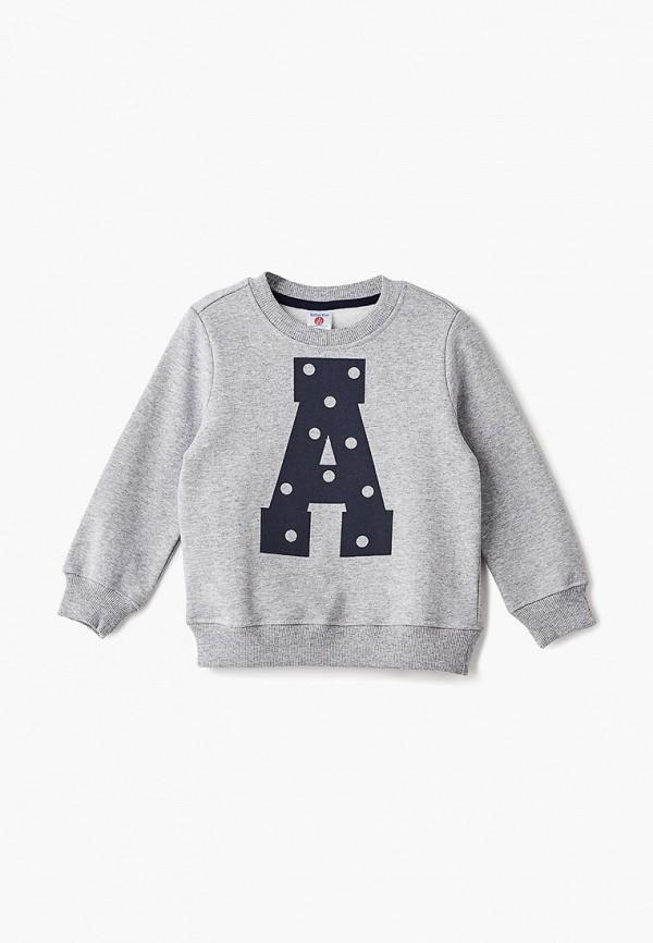 Купить Свитшот Button Blue, BU019EGCRSJ9, серый, Осень-зима 2018/2019