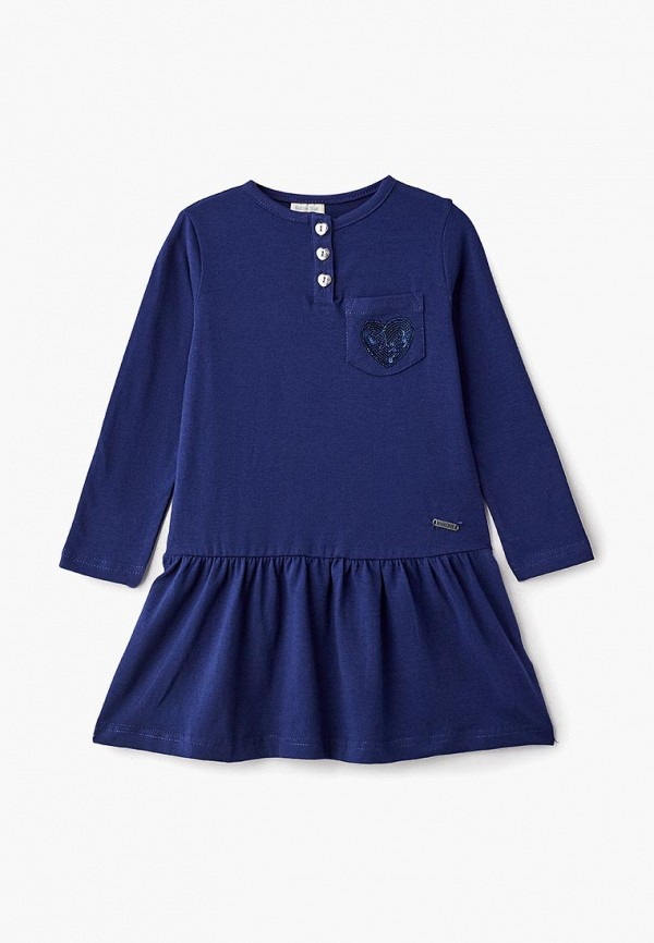 Купить Платье Button Blue, BU019EGCRSM5, синий, Осень-зима 2018/2019