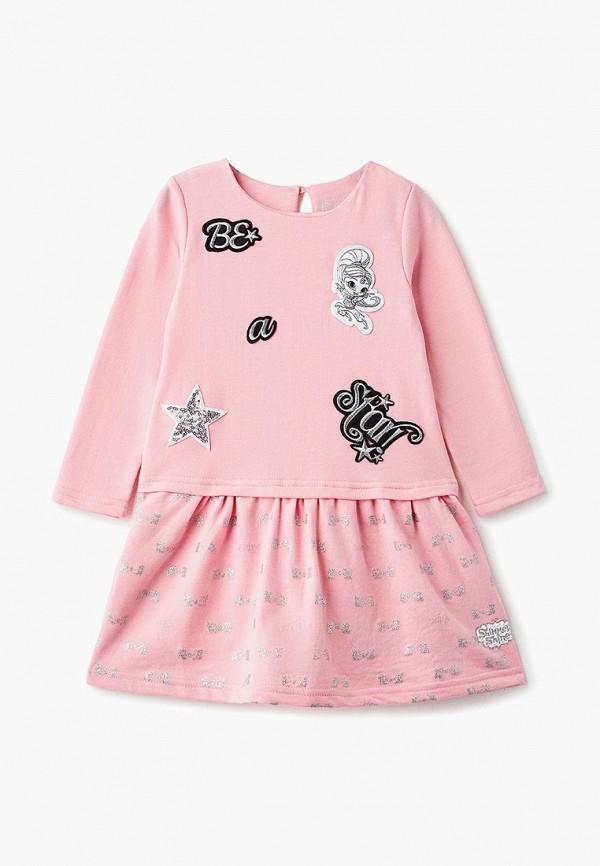 Купить Платье Button Blue, BU019EGCRSO3, розовый, Осень-зима 2018/2019