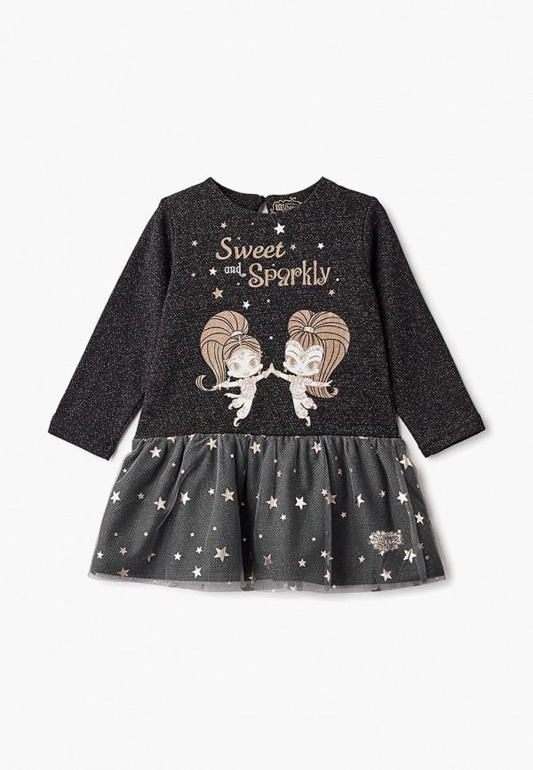 Купить Платье Button Blue, BU019EGCRSO4, черный, Осень-зима 2018/2019