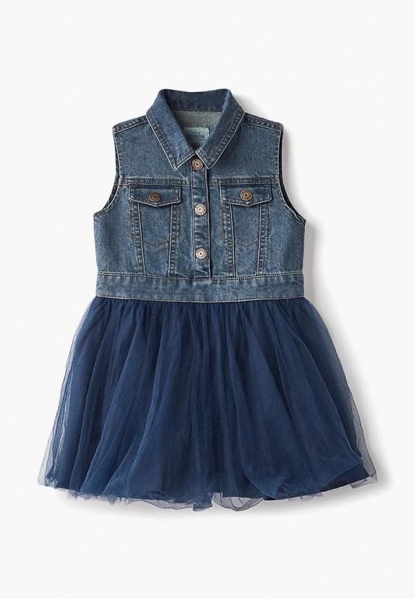 Платье джинсовое Button Blue Button Blue BU019EGCRSP0 шорты button blue button blue bu019ebaghp0