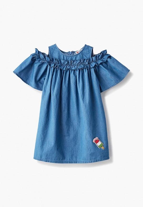 Фото - Платье Button Blue синего цвета