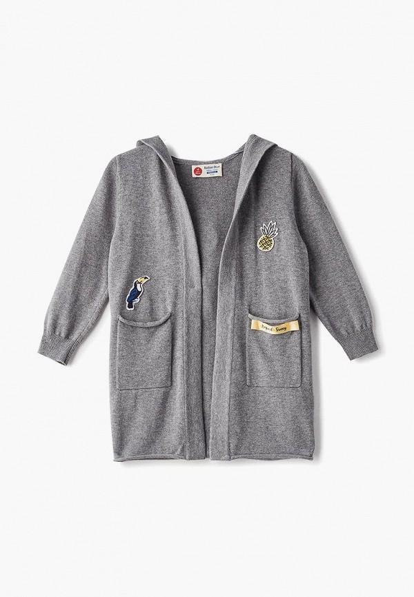 Купить Кардиган Button Blue, bu019egecmx9, серый, Весна-лето 2019