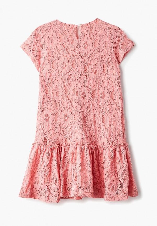 Фото 2 - Платье Button Blue розового цвета