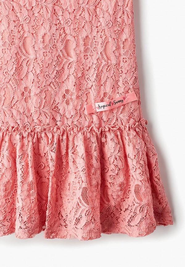 Фото 3 - Платье Button Blue розового цвета