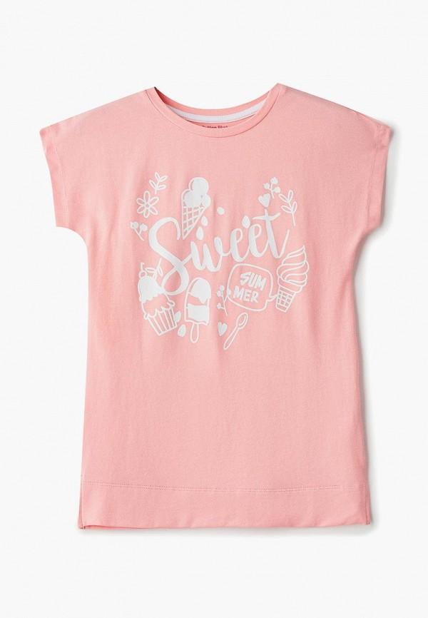сорочка ночная button blue для девочки, розовые