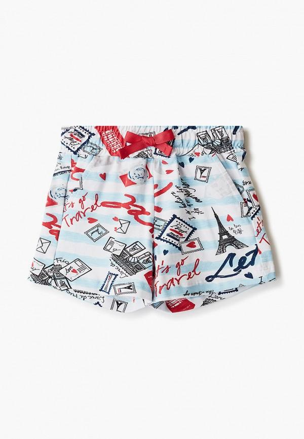 шорты button blue для девочки, разноцветные