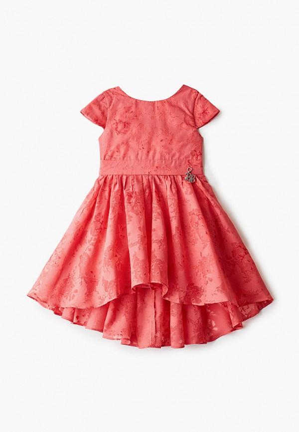 платье button blue для девочки, красное