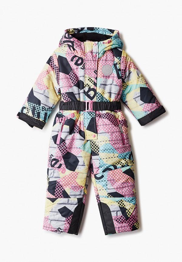 комбинезоны и костюмы button blue для девочки, разноцветные