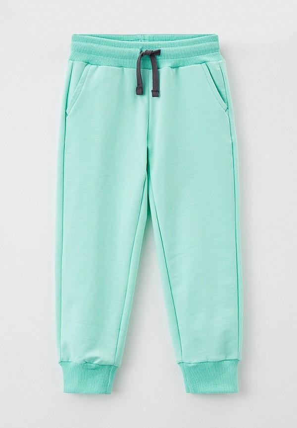спортивные брюки button blue для девочки, бирюзовые