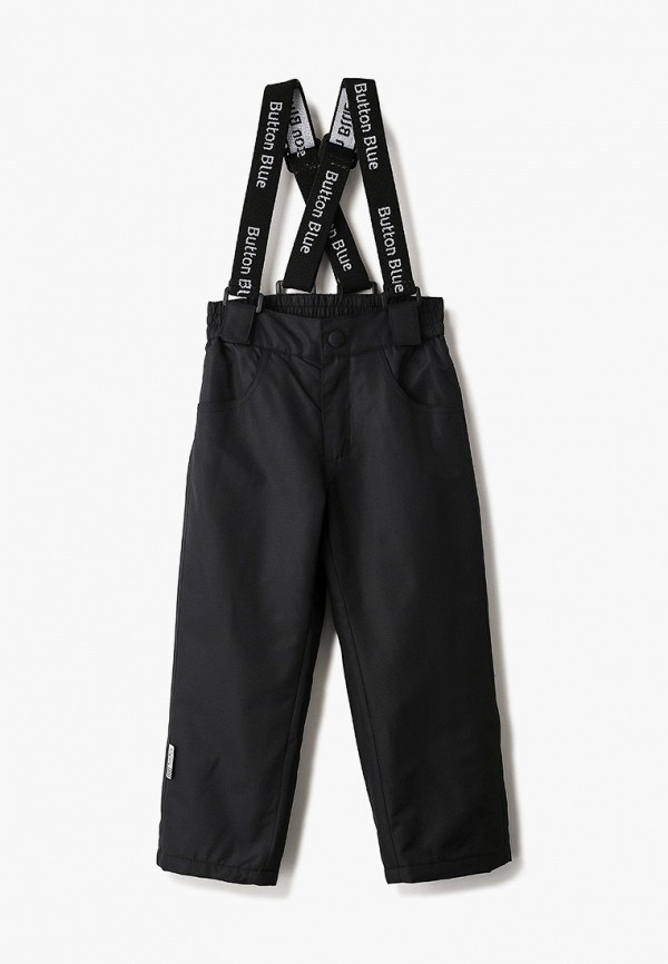 брюки button blue малыши, черные