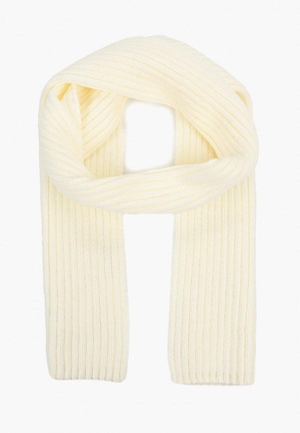 шарф button blue для девочки, белый