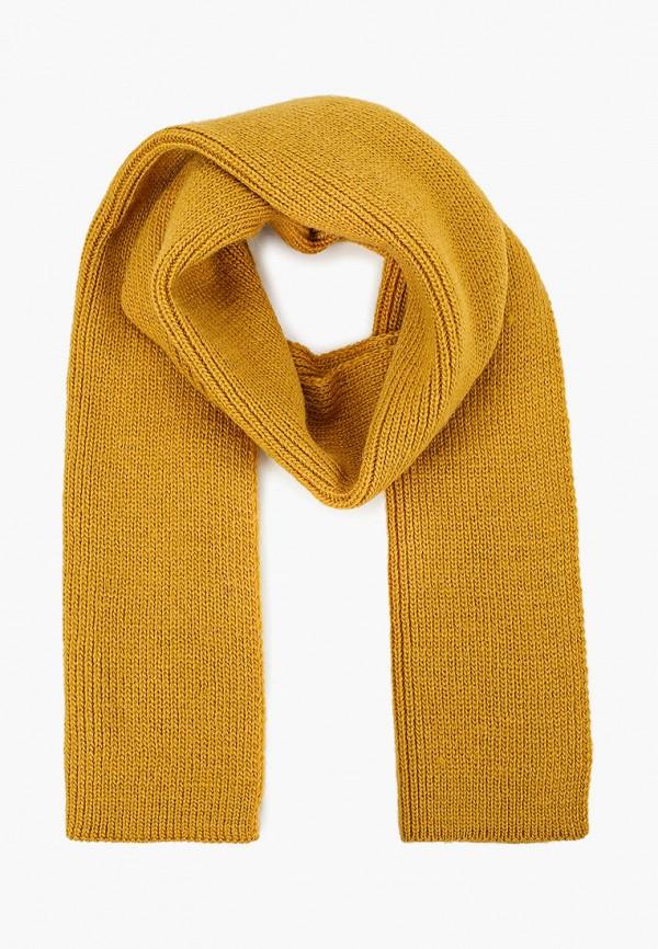 шарф button blue для девочки, желтый