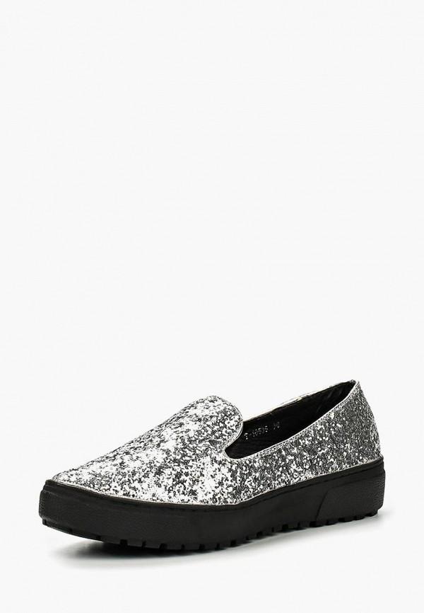женские туфли buonarotti, серебряные