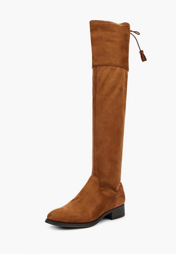 женские ботфорты buonarotti, коричневые