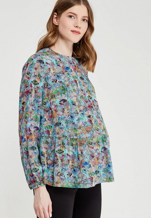 Купить Блуза BuduMamoy, BU022EWAPKL4, разноцветный, Весна-лето 2018