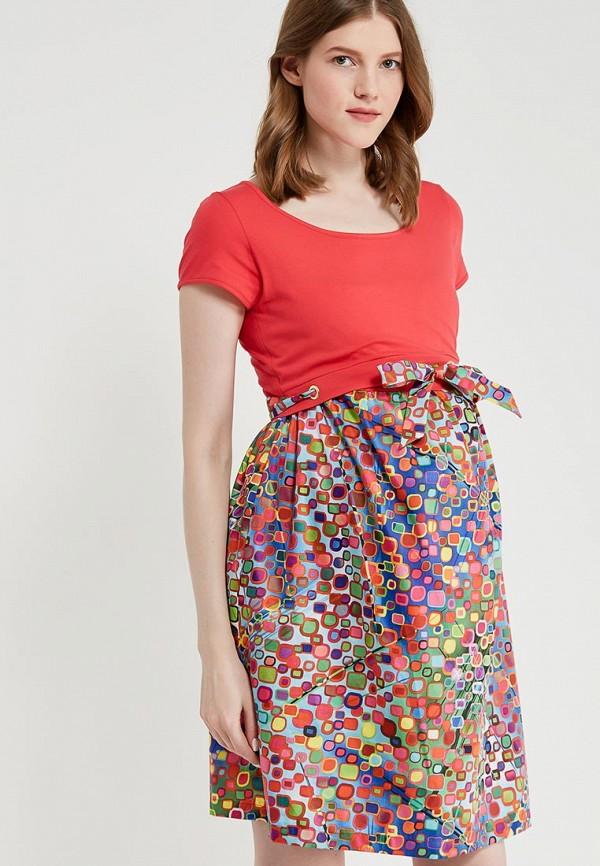Купить Платье BuduMamoy, bu022ewapkn2, разноцветный, Весна-лето 2018