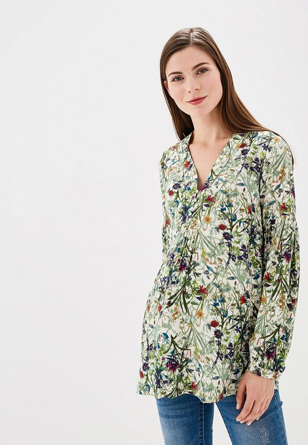 Купить Блуза BuduMamoy, BU022EWAPKO7, зеленый, Весна-лето 2018
